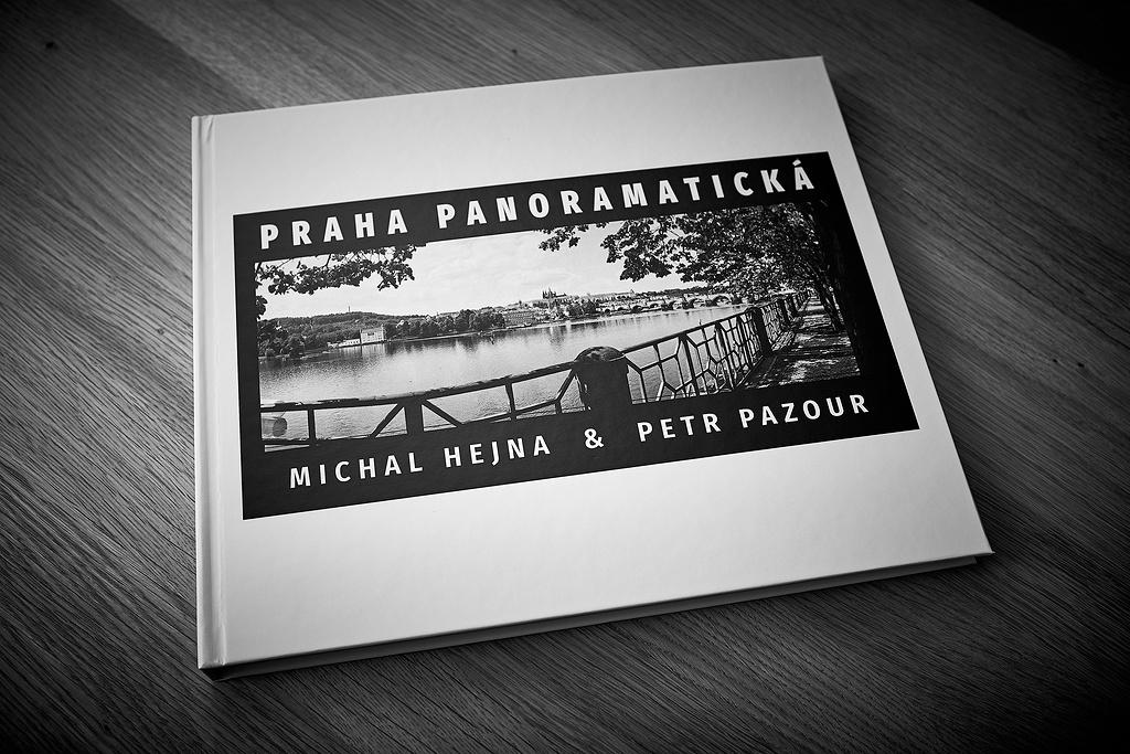 První verze knihy Praha Panoramatická
